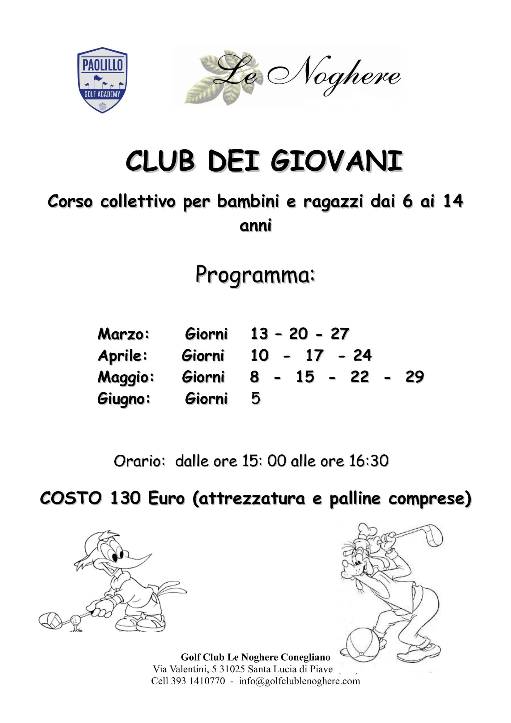 Club dei giovani primavera 2021-1